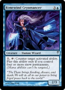 Rimewind Cryomancer | Coldsnap | Magic: The Gathering at ... Planeswalker Activated Ability