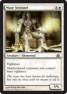 Maze Sentinel | Magic: The Gathering Card