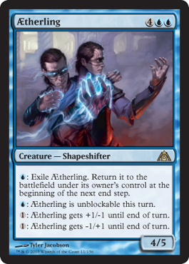 AEtherling | Magic: The Gathering Card