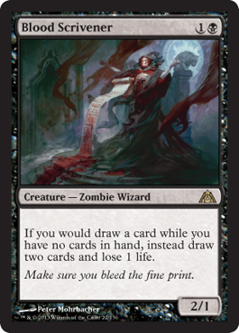 Blood Scrivener | Magic: The Gathering Card