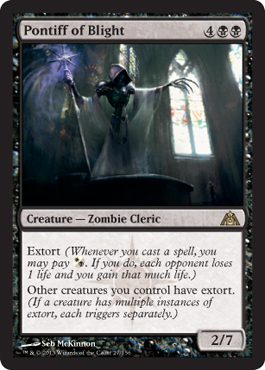 Pontiff of Blight | Magic: The Gathering Card