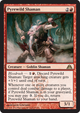 Pyrewild Shaman | Magic: The Gathering Card