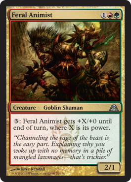Feral Animist | Magic: The Gathering Card