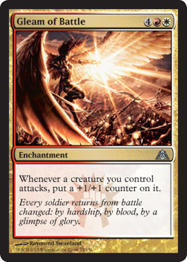 Gleam of Battle | Magic: The Gathering Card