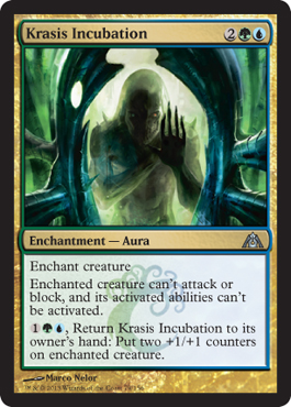 Krasis Incubation | Magic: The Gathering Card