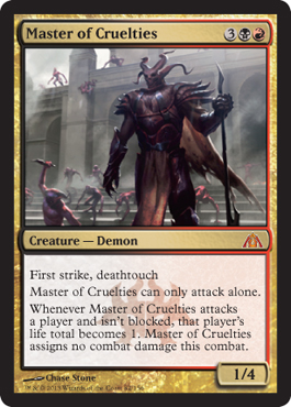 Master of Cruelties | Magic: The Gathering Card