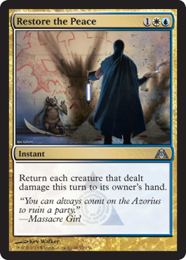 Restore the Peace | Magic: The Gathering Card