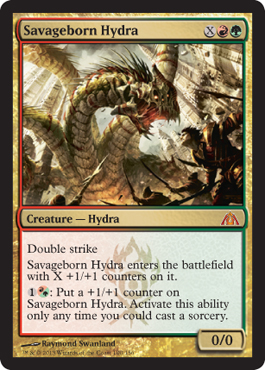 Savageborn Hydra | Magic: The Gathering Card