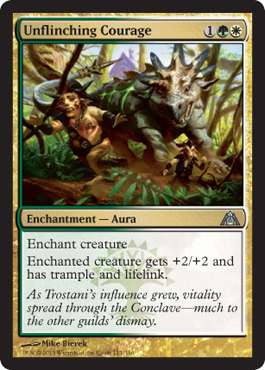 Unflinching Courage | Magic: The Gathering Card
