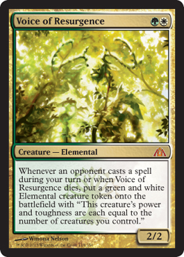 Voice of Resurgence | Magic: The Gathering Card