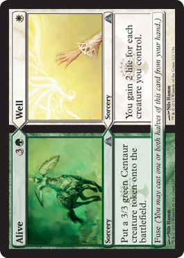 Alive/Well | Magic: The Gathering Card