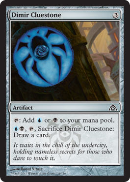 Dimir Cluestone | Magic: The Gathering Card