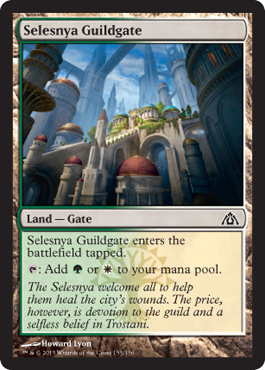 Selesnya Guildgate | Magic: The Gathering Card