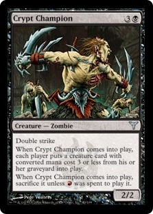 Crypt Champion | Magic: The Gathering Card