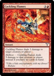Cackling Flames | Magic: The Gathering Card
