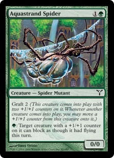 Aquastrand Spider | Magic: The Gathering Card