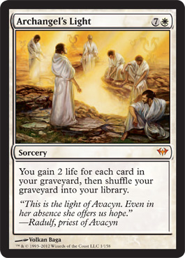 Archangel's Light | Magic: The Gathering Card
