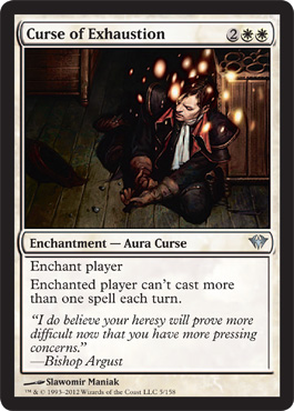 Curse of Exhaustion | Magic: The Gathering Card