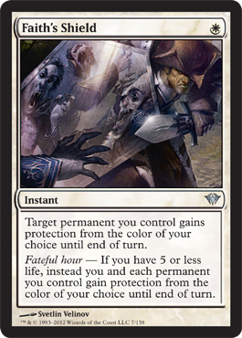 Faith's Shield | Magic: The Gathering Card