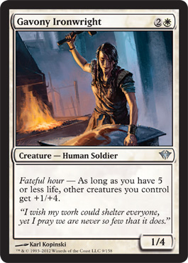 Gavony Ironwright | Magic: The Gathering Card