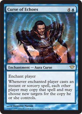 Curse of Echoes | Magic: The Gathering Card