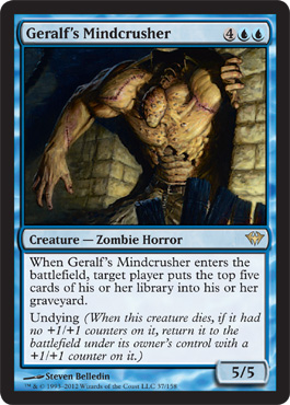 Geralf's Mindcrusher | Magic: The Gathering Card
