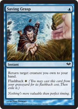 Saving Grasp | Magic: The Gathering Card