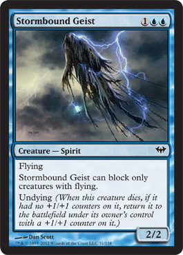 Stormbound Geist | Magic: The Gathering Card