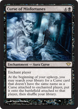 Curse of Misfortunes | Magic: The Gathering Card