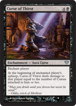 Curse of Thirst | Magic: The Gathering Card