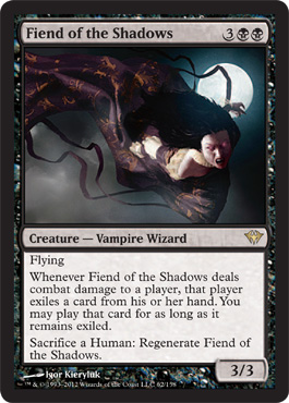 Fiend of the Shadows | Magic: The Gathering Card