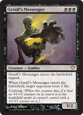Geralf's Messenger | Magic: The Gathering Card