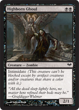 Highborn Ghoul | Magic: The Gathering Card