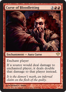 Curse of Bloodletting | Magic: The Gathering Card