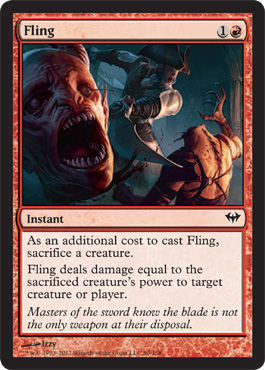 Fling | Magic: The Gathering Card