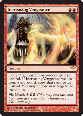 Increasing Vengeance | Magic: The Gathering Card