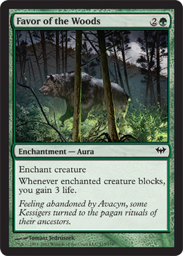 Favor of the Woods | Magic: The Gathering Card