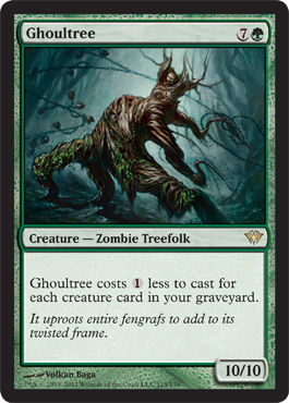 Ghoultree | Magic: The Gathering Card