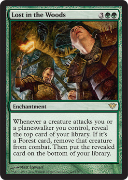 Lost in the Woods | Magic: The Gathering Card