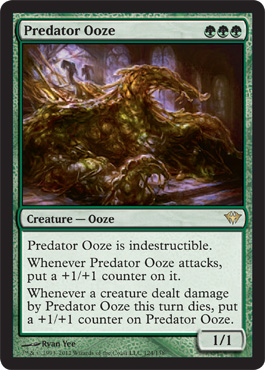 Predator Ooze | Magic: The Gathering Card