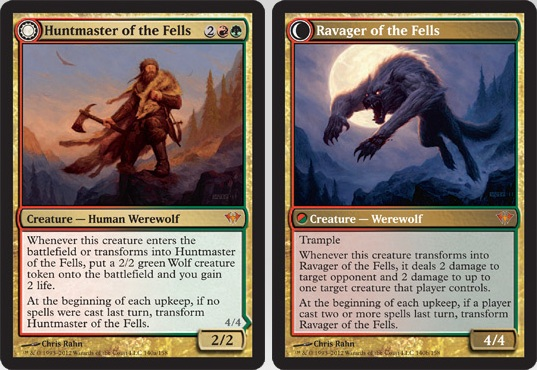 Huntmaster of the Fells / Ravager of the Fells | Magic: The Gathering Card
