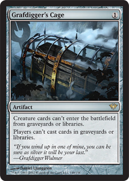 Grafdigger's Cage | Magic: The Gathering Card