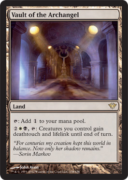 Vault of the Archangel | Magic: The Gathering Card