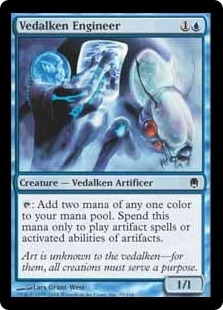Vedalken Engineer | Magic: The Gathering Card