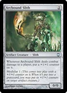 Arcbound Slith | Magic: The Gathering Card