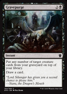 Gravepurge | Magic: The Gathering Card