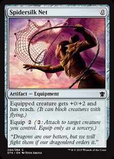 Spidersilk Net | Magic: The Gathering Card