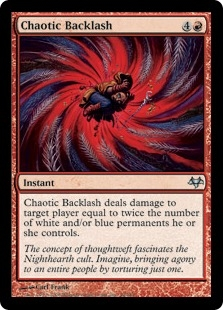 Chaotic Backlash | Magic: The Gathering Card