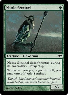 Nettle Sentinel | Magic: The Gathering Card