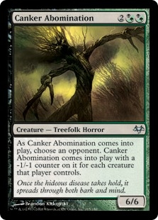 Canker Abomination | Magic: The Gathering Card